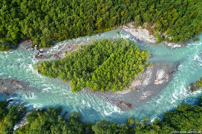 drone, island, river, cascade, forest, aerial, norway, 2019, photo