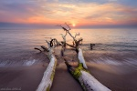 sunset, beach, coast, baltic sea, sun, germany, weststrand, 2016, Best Landscape Photos of 2017, photo