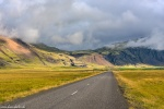 roadshot, mountains, golden hour, street, volcanic, iceland, 2016, photo