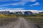 roadshot, dirt road, highlands, mountains, summer, glacier, iceland, 2016, photo