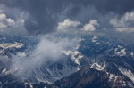 mountain, summit, range, alps, bavaria, snow, zugspitze, germany, photo